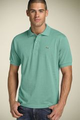 Lacoste Piqué Polo in Blue for Men (capri blue) - Lyst