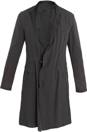 Lanvin Cotton-blend Coat - Lyst
