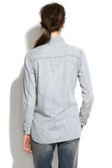 Madewell Rivet & Thread Tincup Popover in Gray (rawhide) - Lyst