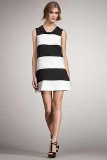 Rachel Zoe Madison Colorblock Shift Dress - Lyst