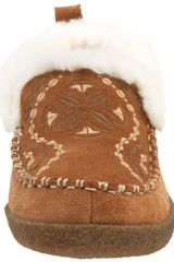 Acorn Womens Mikka Slipper in Brown (pecan) - Lyst