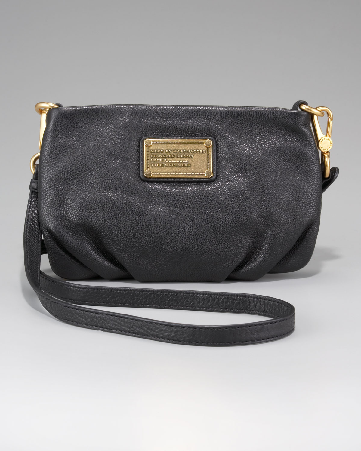 Lyst - Marc By Marc Jacobs 'classic Q - Percy' Crossbody Bag in Black