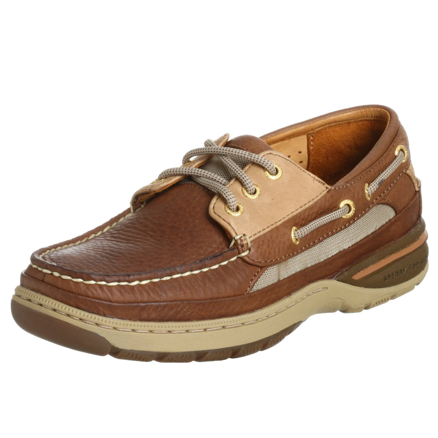 Sperry Mens Gold Cup Billfish ASV Boat Shoe, Dark Brown ... |Sperry Gold
