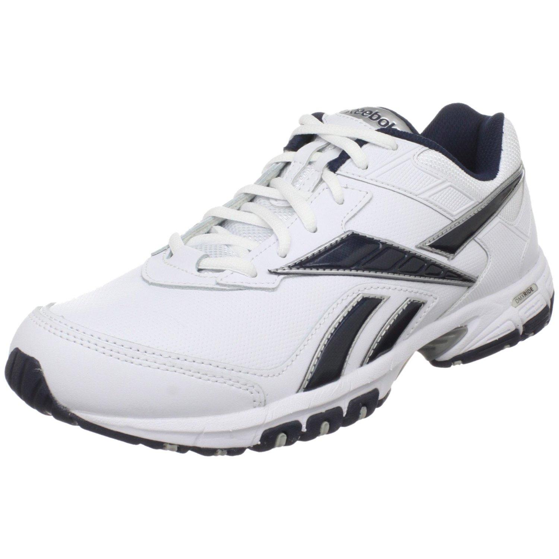 da234d1bd26055 Reebok Mens Neche Dmx Ride Conditioning Shoe in White for
