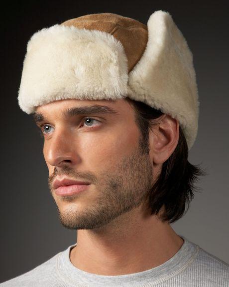 e08ee28afa481 Ugg Mens Shearling Trapper Hat - cheap watches mgc-gas.com