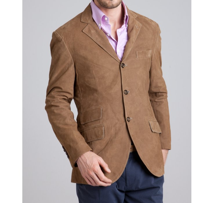 3 Button Sport Coat - JacketIn