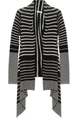 Day Birger Et Mikkelsen Day Nicole Striped Fine-knit Linen-blend Cardigan - Lyst