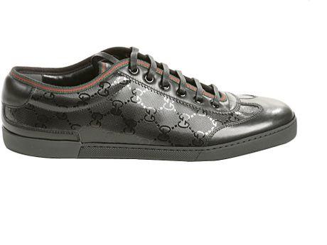 gucci barcelona tennis sneaker in black for lyst