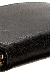 Tusk Donington Gold Zip Card Case in Black - Lyst