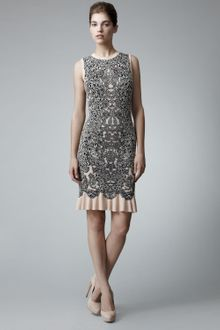 Alexander McQueen Barnacle Dress - Lyst