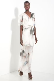 Alice + Olivia Baska Silk Maxi Dress - Lyst