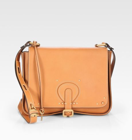Chloé Aurore Small Satchel in Brown (caramel) - Lyst