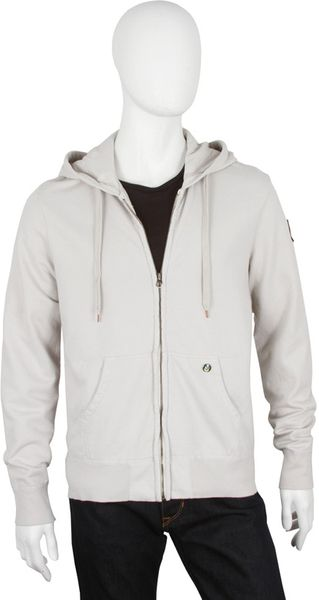 Ever Men's Ever Beachwood Garment Dyed Fleece Hoodie in Ash - Lyst