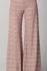 Free People Extreme Knit Flare Pants - Lyst