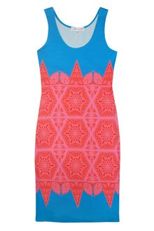 Jonathan Saunders Printed Vest Dress - Lyst