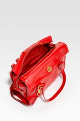 Marc By Marc Jacobs Kitty St. James Satchel in Red - Lyst