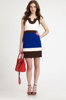 Milly Imara Colorblock Dress - Lyst