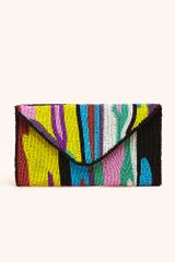 Nasty Gal Wild Night Beaded Clutch - Lyst