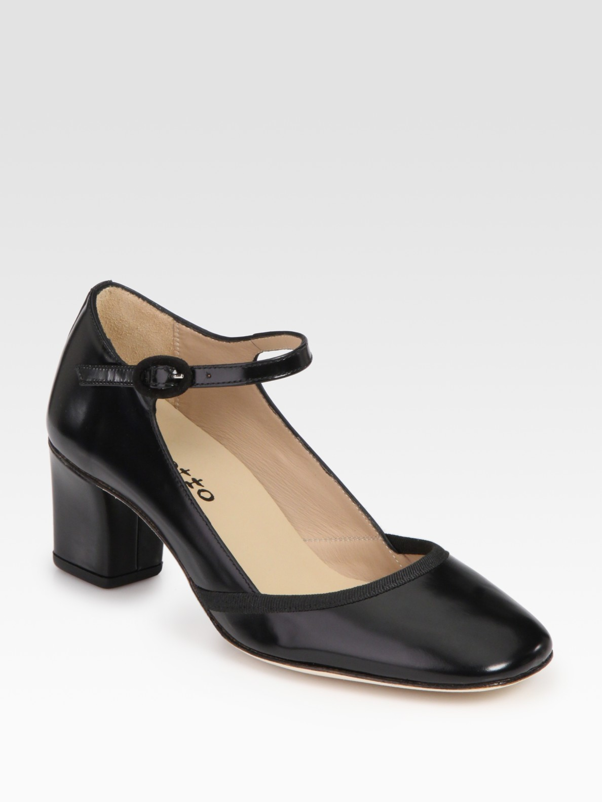 Repetto Leather Mary Jane Pumps cheap online sale best GCADp0E3y
