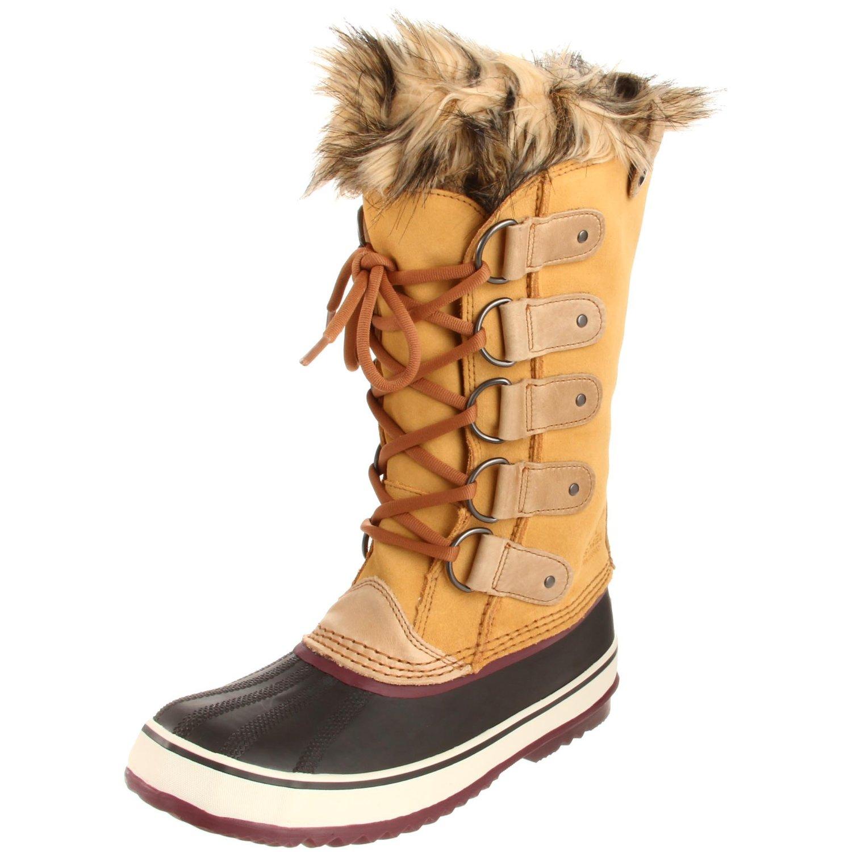 sorel joan of arctic boot in beige taffy port royale lyst