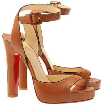 Christian Louboutin 'Viola 120' Leather Pumps - Lyst