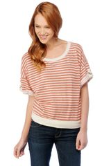 Splendid Sahara Stripe Boatneck Sweater - Lyst