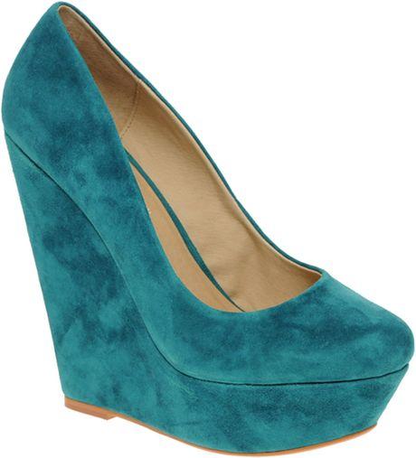 Aldo Blue Suede Shoes