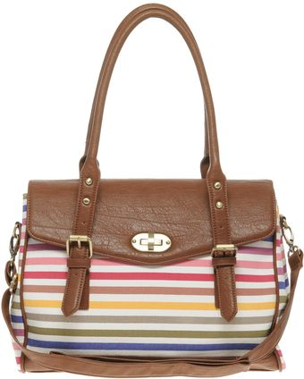 aldo Aldo Giannitti Stripe Bag - Lyst
