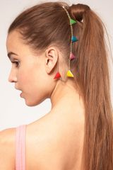 ASOS Collection Asos Rainbow Bunting Ear and Hair Cuff - Lyst