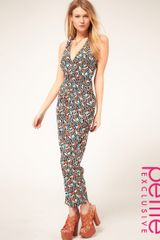 ASOS Collection Asos Petite Exclusive Jumpsuit in Multi Colour Print - Lyst