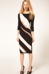 Coast Coast Knit Color Block Dress - Lyst