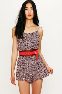Free People Printed Romper - Lyst