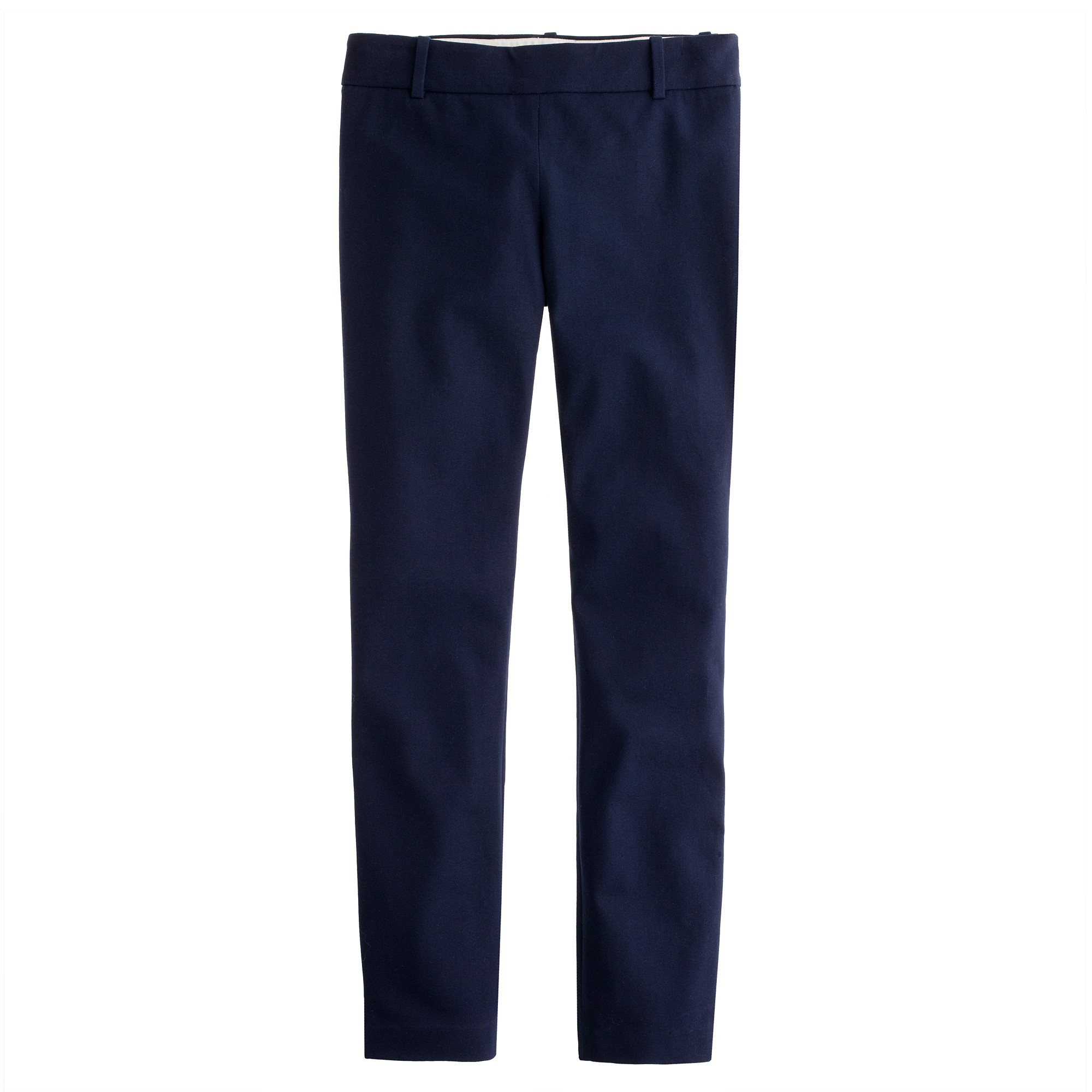 Perfect Crew Cottontwill Straightleg Pants In Natural  Lyst