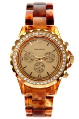 River Island Brown Tortoise Watch in Brown - Lyst