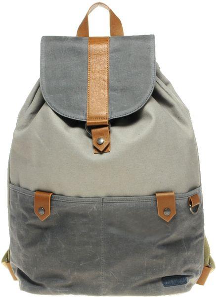 ted baker backpack in gray for men blue lyst. Black Bedroom Furniture Sets. Home Design Ideas