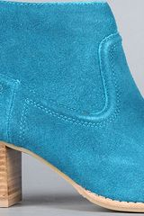 Dv By Dolce Vita The Jamison Boot In Teal Suede in Blue (teal) - Lyst