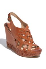 Frye Corrina Strappy Wedge - Lyst