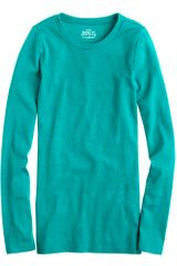 J.Crew Perfect-fit Long-sleeve Tee - Lyst