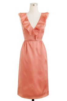 J.Crew Kira Dress in Silk Organza - Lyst