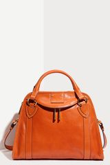 Marc Jacobs Classic Wellington Leather Satchel - Lyst