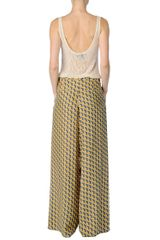 Rag & Bone Racine Pant in Yellow (lemon) - Lyst