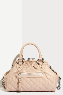 Marc Jacobs Quilting Mini Stam Satchel - Lyst