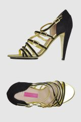 Emanuel Ungaro High-heeled Sandals - Lyst
