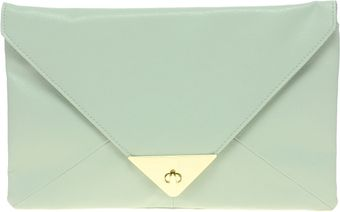 ASOS Collection Asos Pyramid Metal Tip Clutch - Lyst