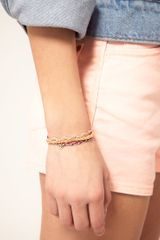Asos Collection Asos Pack Of Three Skull Friendship Bracelets in Multicolor (multi) - Lyst