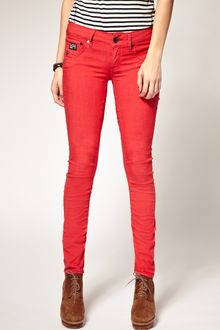 G-star Raw Arc Coloured Skinny Jeans - Lyst