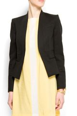 Mango Relaxed-fit Suit Jacket - Lyst