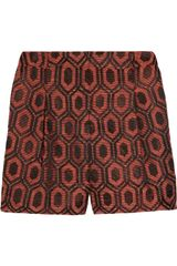 Burberry Jacquard Shorts