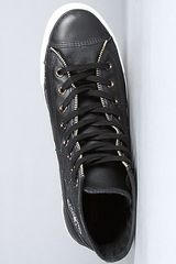 Converse Motorcycle Jacket Hi Sneaker in Black in Black for Men - Lyst