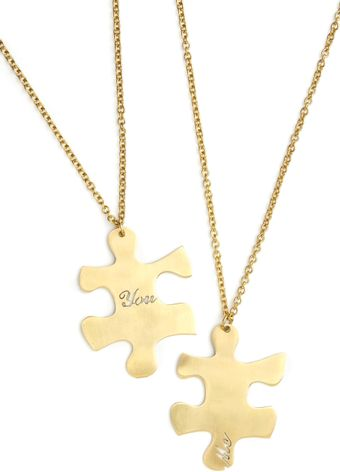 ModCloth We Fit Together Necklaces - Lyst
